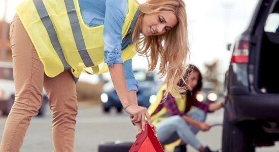 Autounfall: Verhalten beim Verkehrsunfall