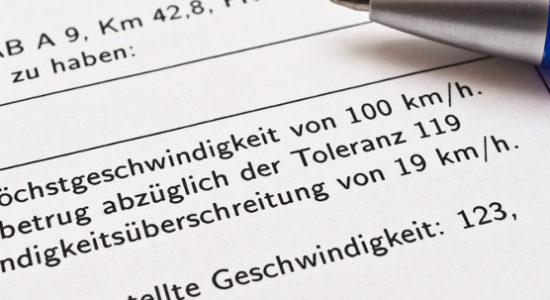 Einspruch Bußgeldbescheid: So widersprechen Sie den Vorwürfen